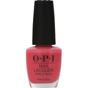 OPI Top Coat, ElePhantastic Pink, NL 142