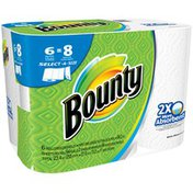 Bounty Select-A-Size Paper Towels, Big Rolls White