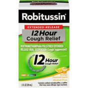 Robitussin Syrup Extended Release 12 Hour Cough Orange, Extended Release 12 Hour Cough Orange