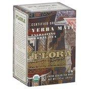Flora Herbal Tea, Yerba Mate, Bags