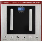 Escali Body Composition Scale, Complete Health