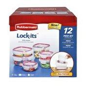 Rubbermaid Lock-Its 12 Piece Set