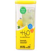 Food Club +H2O, Lemonade Low Calorie Drink Mix