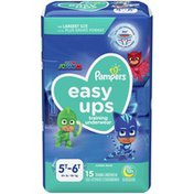 Pampers Easy Ups Training Underwear Boys Size 7 5T-6T