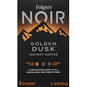 Folgers Coffee, Instant, Medium Dark, Golden Dusk