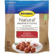 Butterball All Natural Bite Sized Turkey Meatballs