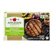 Applegate Organic Beef Burgers