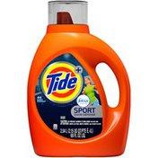 Tide Plus Febreze Sport Odor Defense HE Turbo Clean Liquid Laundry Detergent, 69