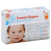The Honest Company Diapers, Size 3 (16-28 Pounds), Skulls