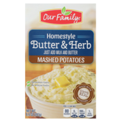Our Family Homestyle Butter & Herb Mashed Potatoes