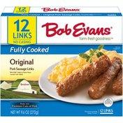 Bob Evans Farms Original Fully Cooked Pork Sausage Links