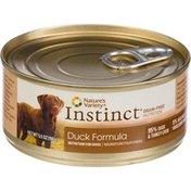 Instinct Original Real Duck Recipe For Dogs
