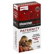 HomeDNA Paternity HomeDNA Collection Kit, Paternity Analysis + Report