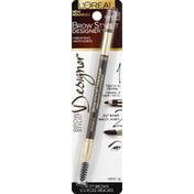 L'Oreal Eyebrow Pencil, Dark Brunette 315