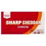 Market Pantry Cheese, Cheddar, Sharp