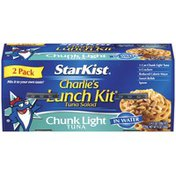 StarKist Chunk Light In Water 4.5 Oz Kits Starkist Chunk Light In Water Kits Charlie's Lunch Kit Tuna Salad