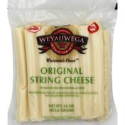 Weyauwega Star Dairy String Cheese, Original