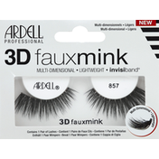 Ardell Lashes, Fauxmink, 3D, 857