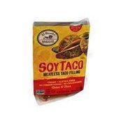 El Burrito Soy Taco Meatless Taco Filling