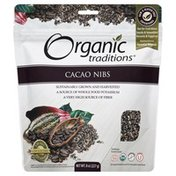 Organic Traditions Cacao Nibs, Pouch