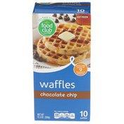 Food Club Chocolate Chip Waffles