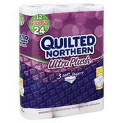 Quilted Northern Ultra Plush® Unscented 3-Ply Bathroom Tissue Double Rolls