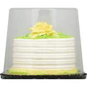 First Street Cake, White, Buttercream