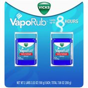 Vicks VapoRub Chest Rub Ointment for Relief from Cough, Cold, Aches, and Pains,