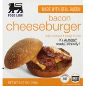 Food Lion Cheeseburger, Bacon, Box