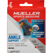 Mueller Ankle Support, 4-Way Stretch, Moderate