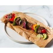 3% Teriyaki Marinade Beef Kabob With Vegetables