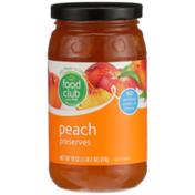 Food Club Peach Preserves