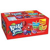 Kool-Aid Jammers Juice Drink Variety Pack, Cherry/Grape/Tropical Punch/Strawberry Kiwi
