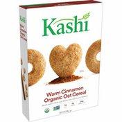 Kellogg's Kashi Breakfast Cereal, Vegetarian Protein, Organic Fiber Cereal, Warm Cinnamon