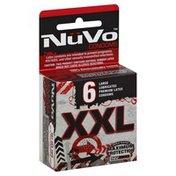 Nu Vo Condoms, Premium Latex, Lubricated, XXL, Large