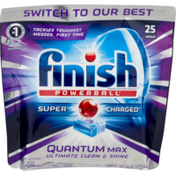 Finish Powerball Quantum Max Super Charged - 25 CT