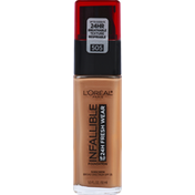 L'Oreal Foundation, Sunscreen, Toffee 505, Broad Spectrum SPF 25