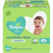Pampers Baby Wipes Unscented