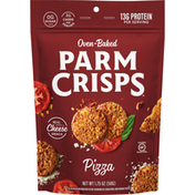 ParmCrisps Cheese Snack, Pizza, Oven-Baked