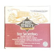 First Street Beef Shortening
