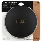Milani Powder, Shine Proof, Deep 09