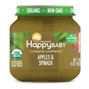 Happy Baby Apples & Spinach