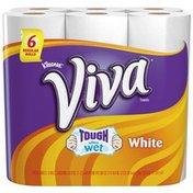 Viva Regular Roll White Towels