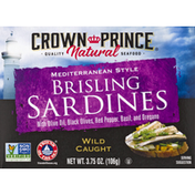 Crown Prince Sardines, Brisling, Mediterranean Style