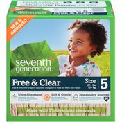 Seventh Generation Diaper Spring Jumbo Stage 5