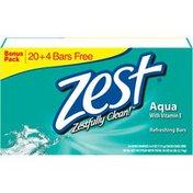Zest Aqua Refreshing Bar Soap