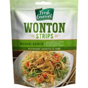 Fresh Gourmet Wonton Strips Wasabi Ranch