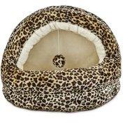 Harmony Hidden Bed Cheetah Cat Cave