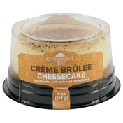 Chuckanut Bay Foods Crème Brûlée Mini Cheesecake