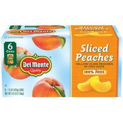 Del Monte Sliced Yellow Cling in 100% Fruit Juice